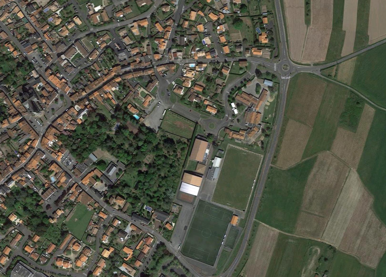photo aérienne - Loire divatte
